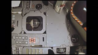 Buttons on Machines Inside Space Shuttle