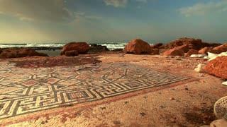 Caesarea Ruins Mosaic