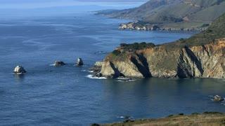 California Cliffs Ocean Timelapse