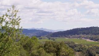 California Countryside Landscape