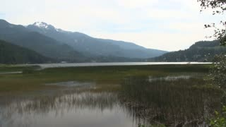Canadian Wetlands By Mountains