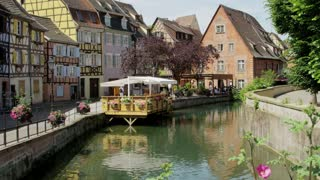 Canals in Colmar, France
