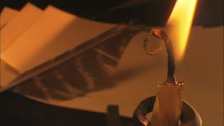 Candle and Quill