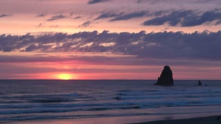 Cannon Beach in the Evening