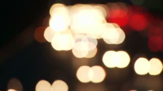 Car Light Bokeh