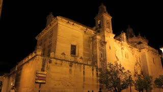 Carmona Church At Night