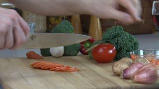 Carrots Julienne