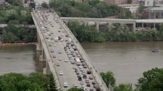 Cars Moving Slow On DC Bridge