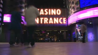 Casino Entrance Timelapse
