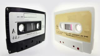 Cassette Tapes Facing