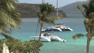 Catamarans Floating on Water 2