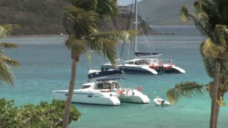 Catamarans Floating on Water
