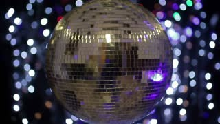 Center Disco Ball Room