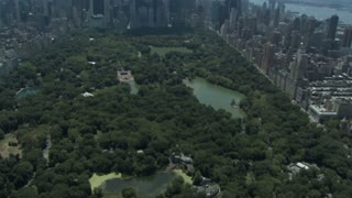 Central Park and NYC Aerial 2