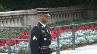 Changing of the Guard at the Tomb of the Unknowns 3
