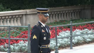 Changing of the Guard at the Tomb of the Unknowns 4