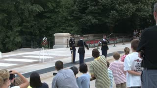 Changing of the Guard at the Tomb of the Unknowns 8
