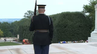 Changing of the Guard at the Tomb of the Unknowns 9
