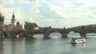Charles Bridge Vltava River