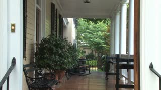 Charleston Home Porch