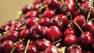 Cherry in the market