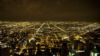 Chicago City Night View TL