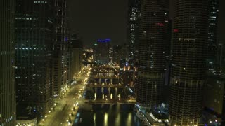 Chicago Night Storm Timelapse