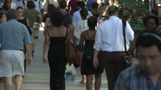 Chicago Pedestrian Timelapse