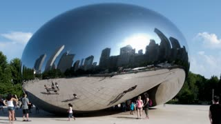 Chicago Timelapse Cloud Gate