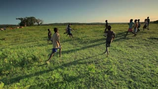 Children Playing Soccer on the Fields 4