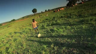 Children Playing Soccer on the Fields 6