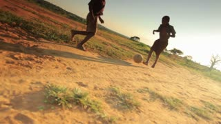Children Playing Soccer on the Fields 7