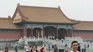 China's Forbidden City Time Lapse