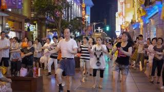 Choreographed Street Dancing in Nanjing