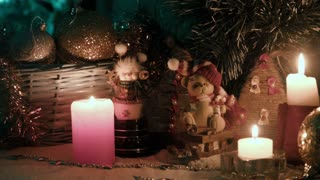 Christmas decoration scene