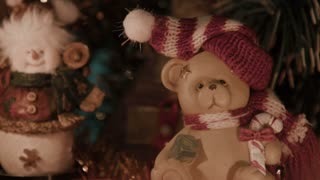 Christmas decoration, teddy bears