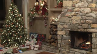 Christmas Scene by the Fire 3