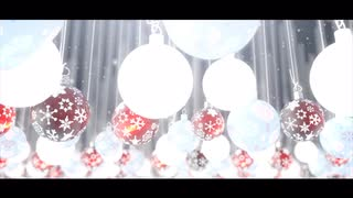 AE Template: Glowing Christmas Ornaments Template