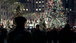 Christmas Tree and Lights in New York City 5