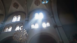 Church Light Beams