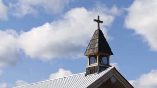 Church Steeple Cross Timelapse