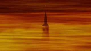 Church Tower Steeple Background