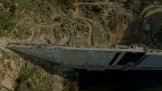 Circling California Dam