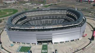 Circling MetLife Stadium Aerial