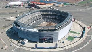 Circling MetLife Stadium