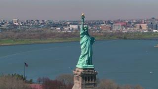 Circling Statue of Liberty
