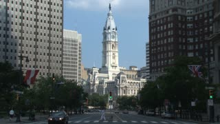 City Hall and Downtown Philly