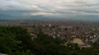 Cityscape in Nepal