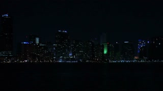 Cityscape of Miami at Night