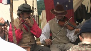 Civil War Band Fiddle Fife